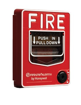 Fire Lite Alarms BG12LPS pull station,dual action,key lock,presignal ...