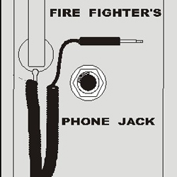 P 88899 Silent Knight Fft Fpj Fire Fighter Phone Jack