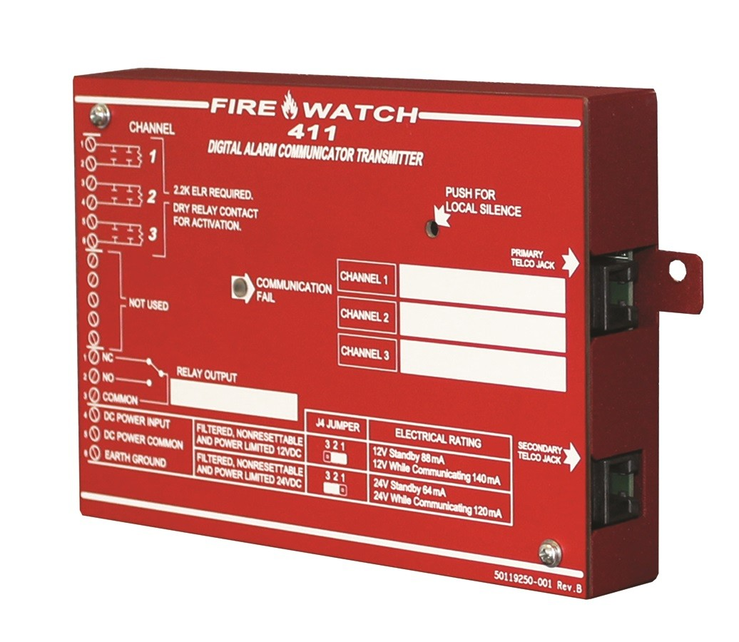 Fire Lite Alarms 411UD